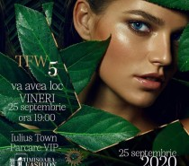 Timișoara Fashion Week face safari prin jungla modei – 25 septembrie 2020, Iulius Town