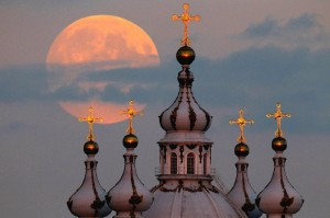 Super moon, Eclipse and Spring Equinoxsmolny cat