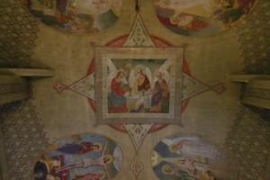 Cupola bisericii Drăgănescu - o Capelă Sixtină în miniatură