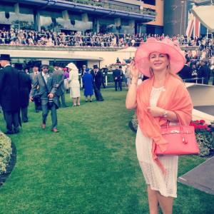 Delia Antal la Royal Ascot