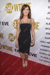 Felicity Huffman wears Lorena Sarbu to Showtime's 2015 Emmy Eve Party