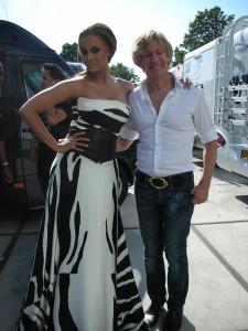 Addy van den Krommenaker si Tyra Banks (1)