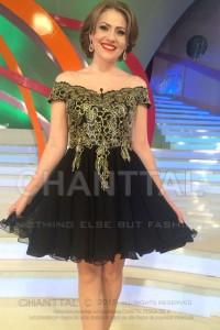 Mirela in rochie Chanttal