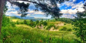 peisaj platoul Medelic - Manzalesti refacuta