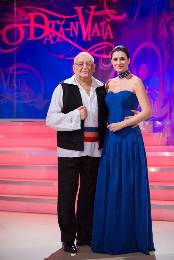 Tiberiu ceia si Iuliana Tudor la emisiunea de la TVr 1, o data n viata. Frumoasa i vecina noastra. melodie referinta