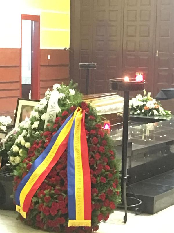 Funeralii Dan Andrei Aldea